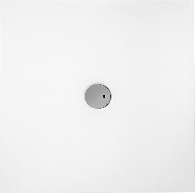 Brausewanne Evje Quadrat 1000x35x1000mm Acryl, weiss