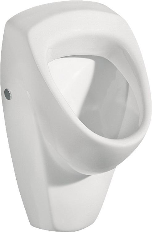 Urinal Geberit Renova weiss, Zulauf von hinten,Abgang nach hinten,BxHxT: 360x610x370mm