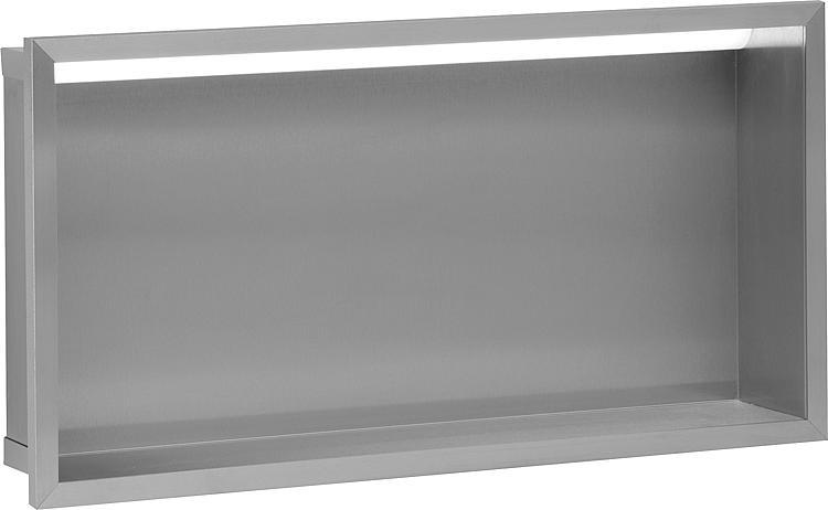 Wandnische mit LED-Beleuchtung Tiefe 100mm,69Lumen,230V,5.52W, BxH:625x325mm