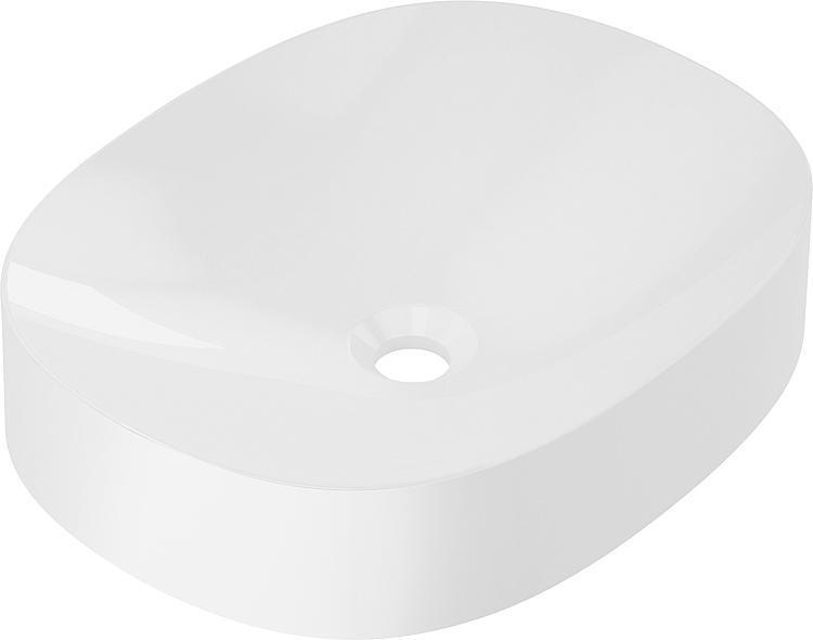 Aufsatz-Waschtisch Maicuru aus Mineralguss,BxHxT:480x100x380mm