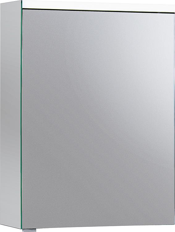Burgbad SURI2 Spiegelschrank m. horizontaler LED-Bel. 1 Tür Anschl.links 558x680x160mm