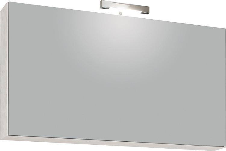 Spiegelschrank mit Beleuchtung Eiche hell Dekor 1 Klapptür 950x500x188mm
