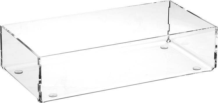 Sortierboxen aus Plexiglas transparent 240x50x120mm