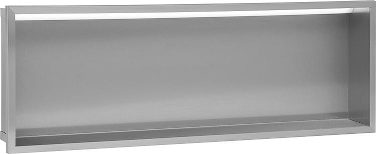 Wandnische mit LED-Beleuchtung Tiefe 100mm,105Lumen,230V,8.4W, BxH:925x325mm