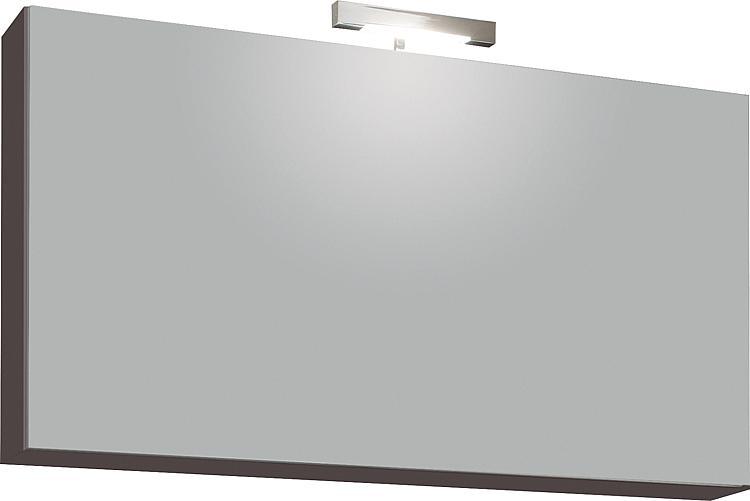 Spiegelschrank mit Beleuchtung anthrazit matt 1 Klapptür 950x500x188mm