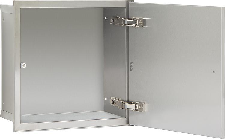 Wandcontainer,1befliesbare Türe 331x331mm