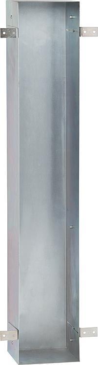 Stahl-Einbaurahmen für WC-Wandcontainer BxHxT:168x800x165mm