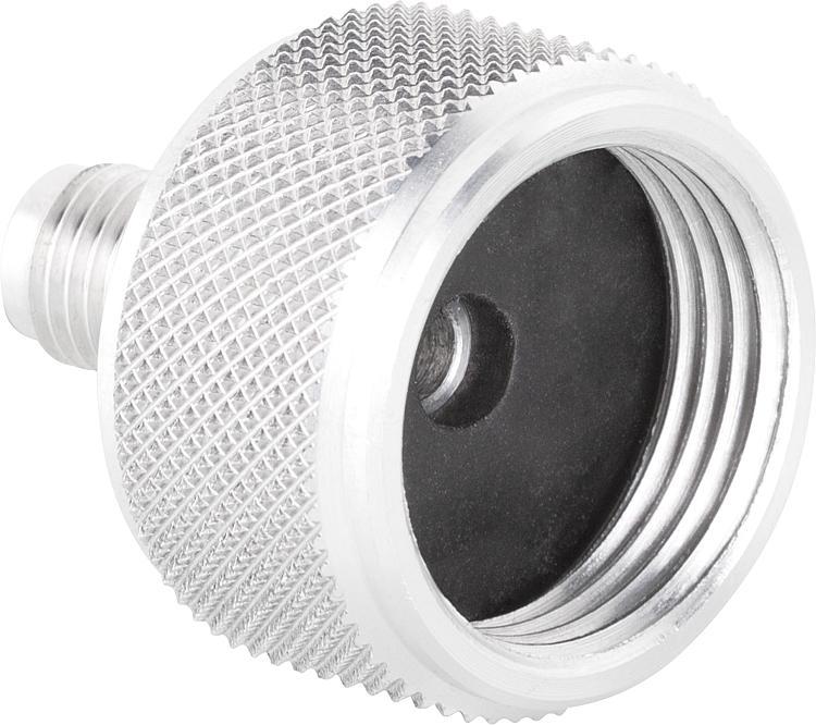 """Adapter-Aluminium DN20-3/4"""" x 7/16 UNF (1/4""""SAE)"""