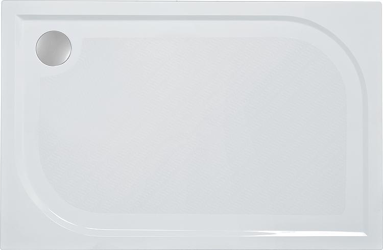 Duschwanne Ebby, aus Mineralguss BxHxT:1000x38x900mm, inkl. Montagefüsse und Antislip
