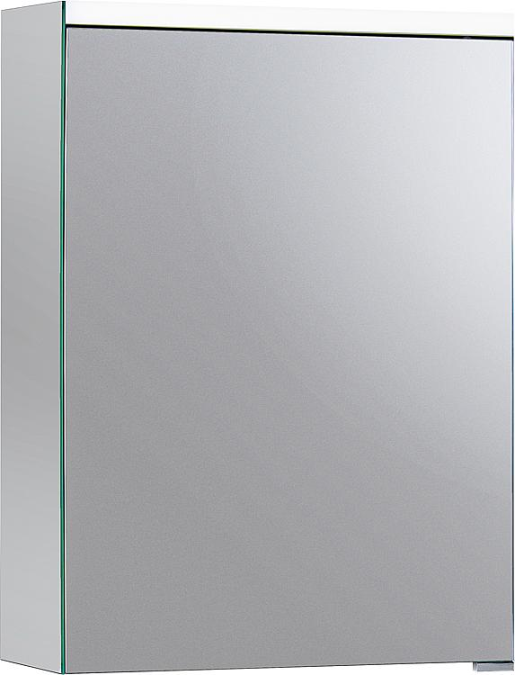 Burgbad SURI2 Spiegelschrank m. horizontaler LED-Bel. 1 Tür Anschl. rechts 558x680x160mm