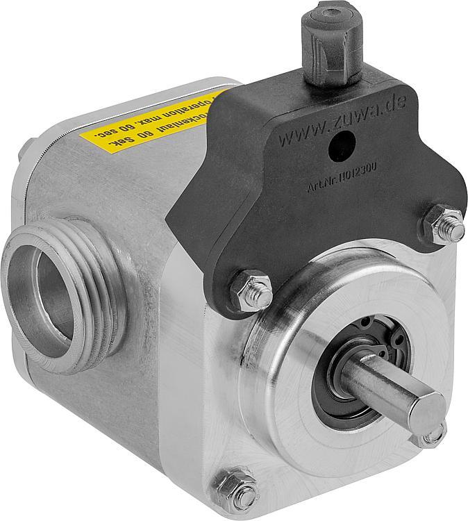 UNISTAR 2001-B Impellerpumpe m. Adapter f. Bohrm. Pumpe max. 60 L/Min., max. 4 bar