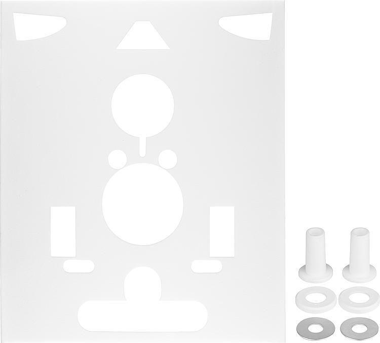 Schallschutz-Set 3 in 1 universell für WC, Bidet und Urinal