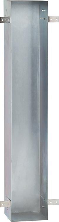 Stahl-Einbaurahmen für WC-Wandcontainer BxHxT:168x950x165mm