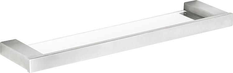 Glasablagekonsole Erva Edelstahl gebürstet inkl. Befestigung