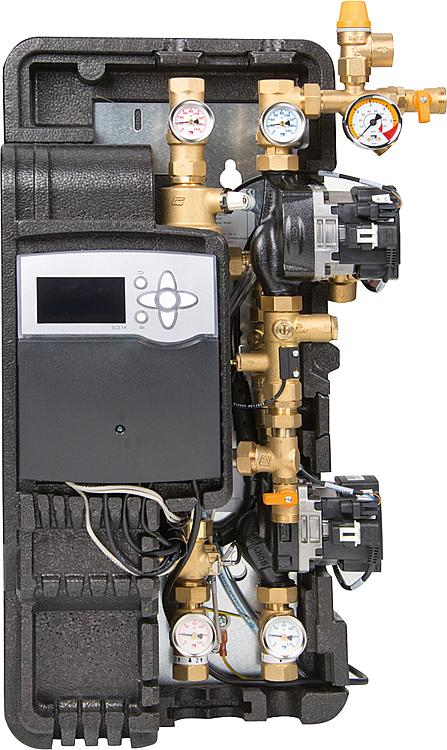 Solar-Trennsystem Solex Mini DN15, inkl.Regelung Delta Sol BX Plus