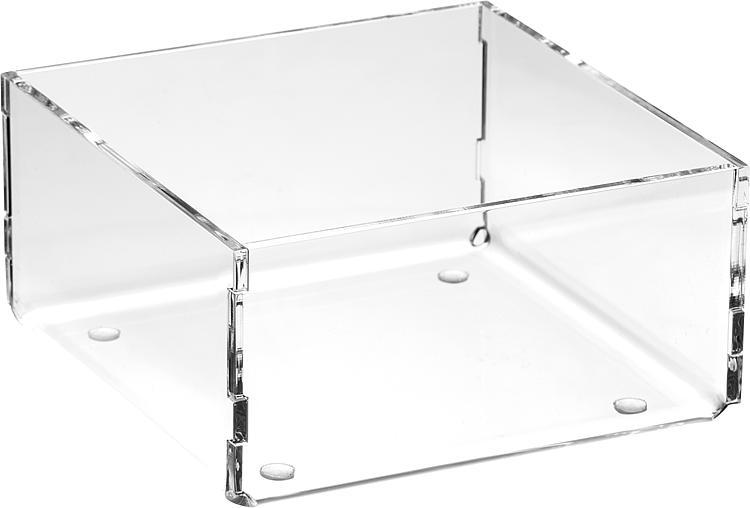 Sortierboxen aus Plexiglas transparent 120x50x120mm