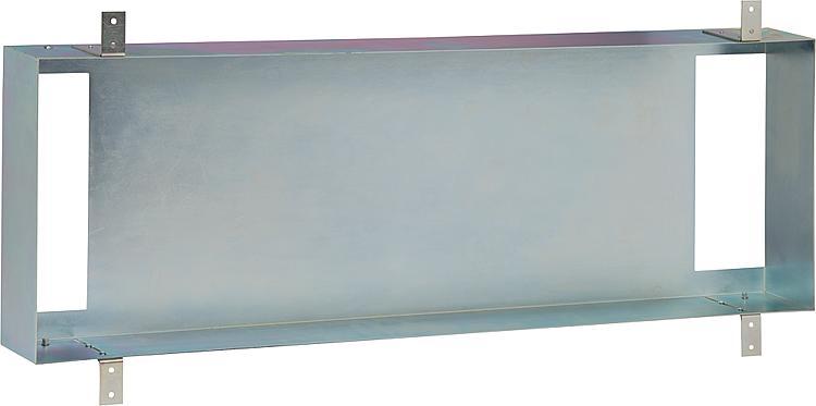 Stahl-Einbaurahmen vertikal oder horizontal montierbar BxHxT:310x900x115mm