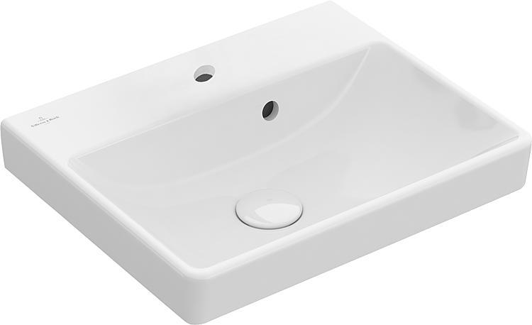 Handwaschbecken V&B Avento 450x370x150, mit Überlauf, weiss