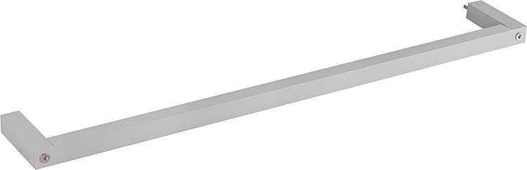 Aluminium-Handtuchhalter ELES zur Montage am WTU 450x15x100mm