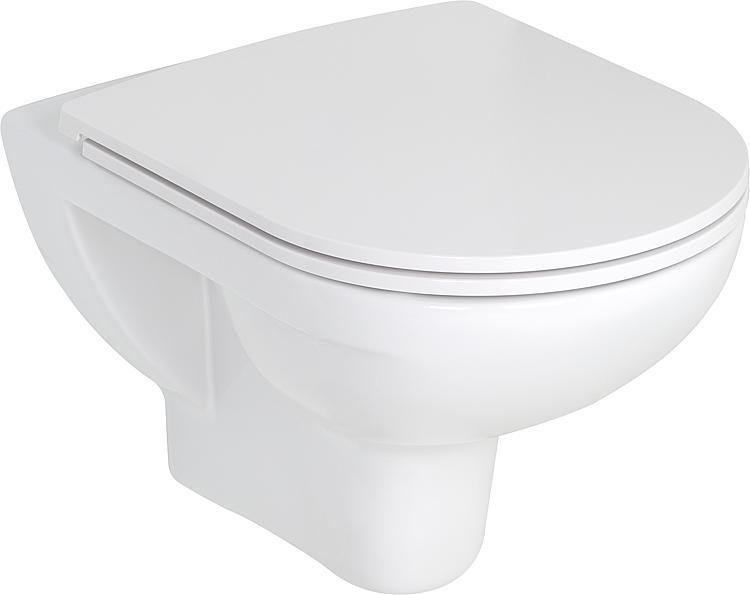 Combi-Pack Laufen PRO Wandtiefspül-WC spülrandlos + WC-Sitz softclose, abnehmbar