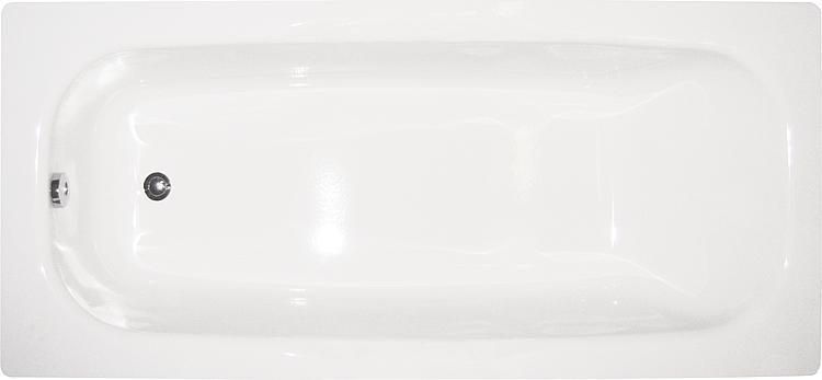 Badewanne RIGA BxHxT:1800x410x800mm Stahl-Emaille
