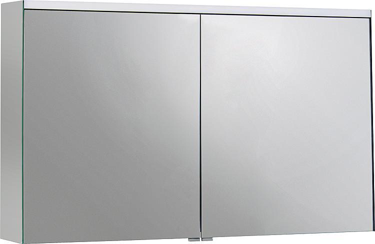 Burgbad SURI2 Spiegelschrank m. horizontaler LED-Bel. 2Türen 1108x680x160