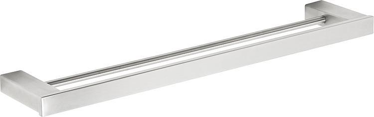 Doppelbadetuchstange Erva L=600mm Edelstahl gebürstet inkl. Befestigung