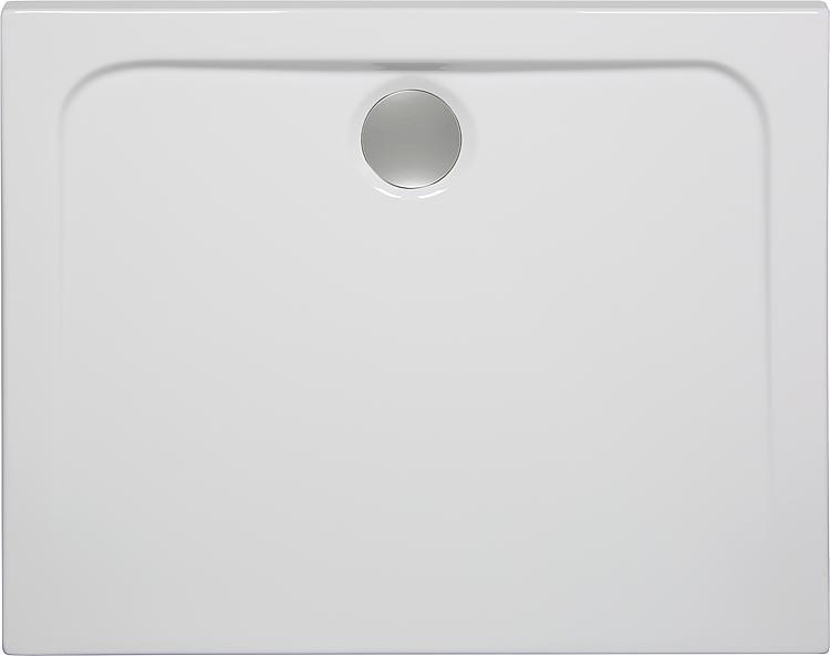 Duschwanne EILA BxHxT: 1200x25x800mm Acryl, weiss